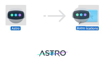 TRÆK og SLIP Astro over i Programmer