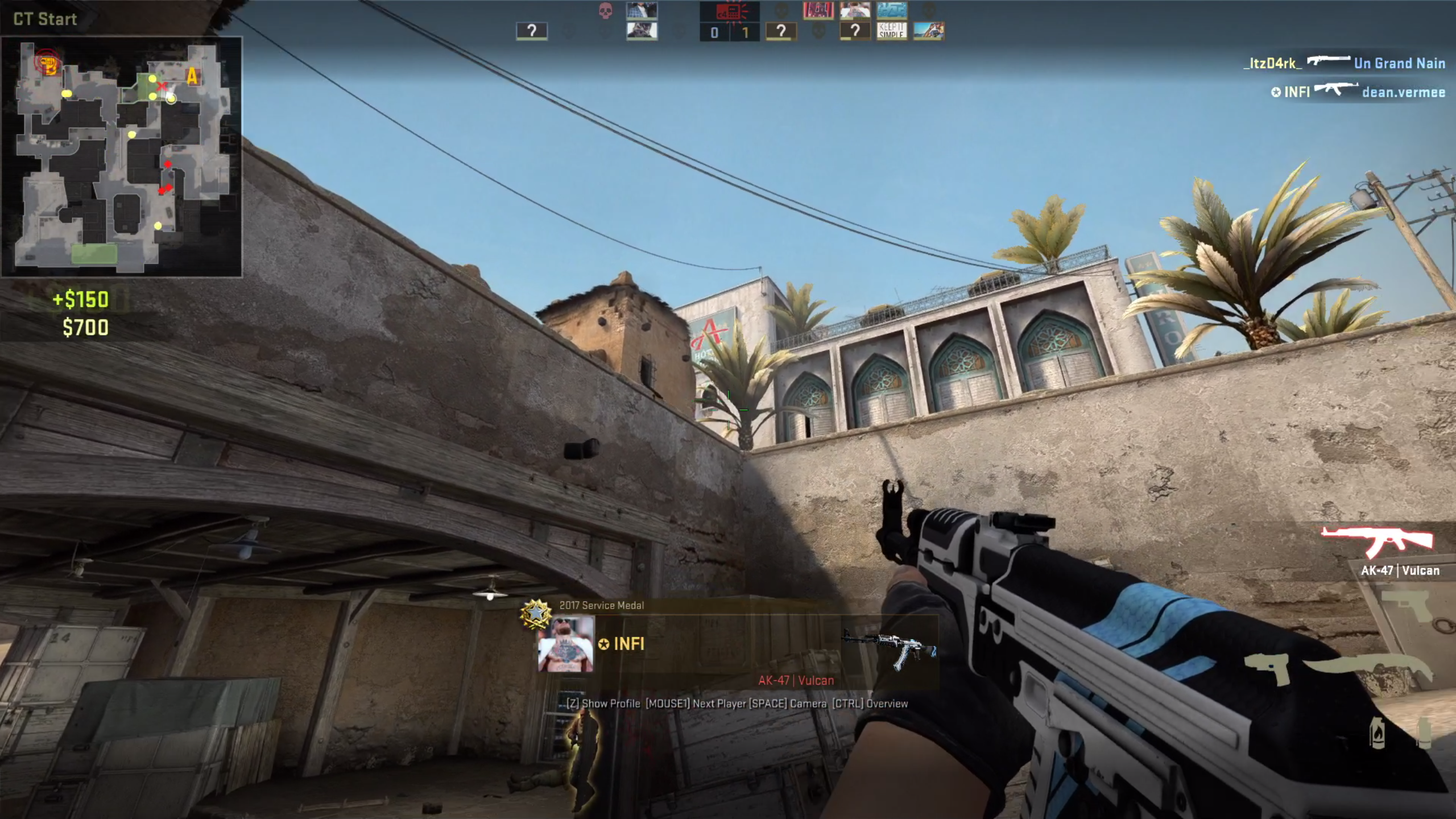 Screen Shot Counter Strike Global Offensive på macOS via GeForce Now Cloud